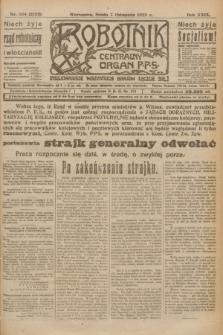 Robotnik : centralny organ P.P.S. R.29, nr 304 (7 listopada 1923) = nr 2132