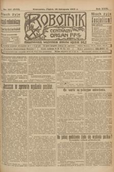 Robotnik : centralny organ P.P.S. R.29, nr 327 (30 listopada 1923) = nr 2155