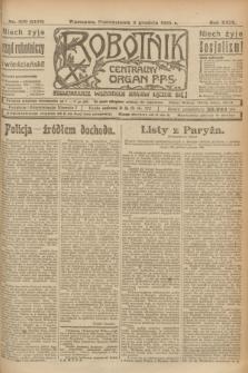 Robotnik : centralny organ P.P.S. R.29, nr 330 (3 grudnia 1923) = nr 2158