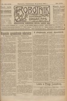 Robotnik : centralny organ P.P.S. R.29, nr 336 (10 grudnia 1923) = nr 2164