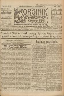Robotnik : centralny organ P.P.S. R.29, nr 342 (16 grudnia 1923) = nr 2170
