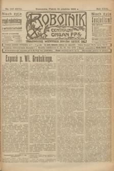 Robotnik : centralny organ P.P.S. R.29, nr 347 (21 grudnia 1923) = nr 2175