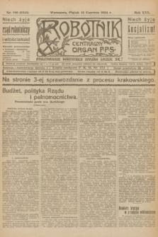 Robotnik : centralny organ P.P.S. R.30, nr 160 (13 czerwca 1924) = nr 2341