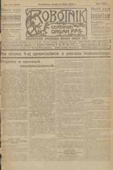 Robotnik : centralny organ P.P.S. R.30, nr 179 (2 lipca 1924) = nr 2360