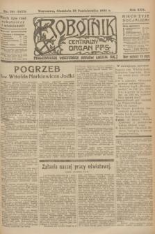 Robotnik : centralny organ P.P.S. R.30, nr 294 (26 października 1924) = nr 2475