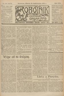 Robotnik : centralny organ P.P.S. R.30, nr 296 (28 października 1924) = nr 2477