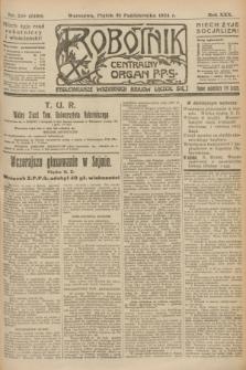 Robotnik : centralny organ P.P.S. R.30, nr 299 (31 października 1924) = nr 2480