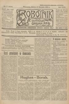Robotnik : centralny organ P.P.S. R.31, nr 17 (17 stycznia 1925) = nr 2474