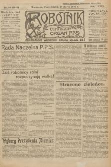 Robotnik : centralny organ P.P.S. R.31, nr 89 (30 marca 1925) = nr 2542