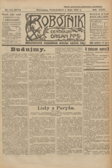 Robotnik : centralny organ P.P.S. R.31, nr 122 (4 maja 1925) = nr 2575