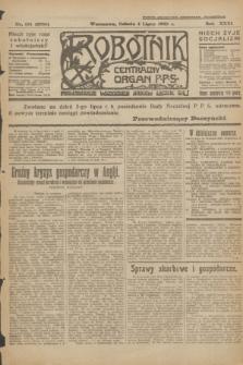 Robotnik : centralny organ P.P.S. R.31, nr 181 (4 lipca 1925) = nr 2635