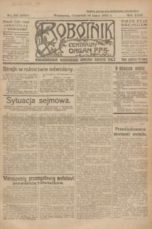 Robotnik : centralny organ P.P.S. R.31, nr 193 (16 lipca 1925) = nr 2647
