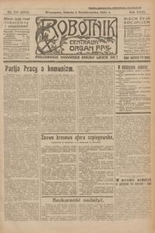 Robotnik : centralny organ P.P.S. R.31, nr 271 (3 października 1925) = nr 2714