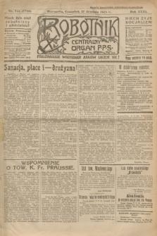 Robotnik : centralny organ P.P.S. R.31, nr 346 (17 grudnia 1925) = nr 2789