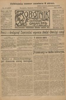 Robotnik : centralny organ P.P.S. R.32, nr 10 (10 stycznia 1926) = nr 2810