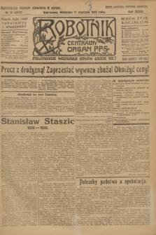 Robotnik : centralny organ P.P.S. R.32, № 17 (17 stycznia 1926) = № 2817
