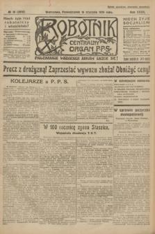 Robotnik : centralny organ P.P.S. R.32, № 18 (18 stycznia 1926) = № 2818