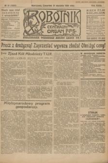 Robotnik : centralny organ P.P.S. R.32, № 21 (21 stycznia 1926) = № 2821