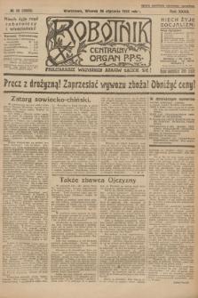 Robotnik : centralny organ P.P.S. R.32, № 26 (26 stycznia 1926) = № 2826