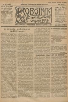 Robotnik : centralny organ P.P.S. R.32, № 28 (28 stycznia 1926) = № 2828