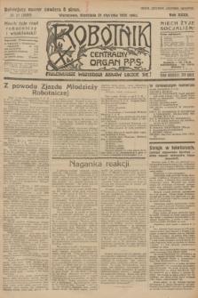 Robotnik : centralny organ P.P.S. R.32, № 31 (31 stycznia 1926) = № 2831