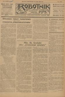 Robotnik : centralny organ P.P.S. R.32, № 46 (15 lutego 1926) = № 2846