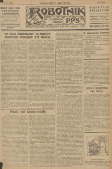 Robotnik : centralny organ P.P.S. R.32, № 48 (17 lutego 1926) = № 2848