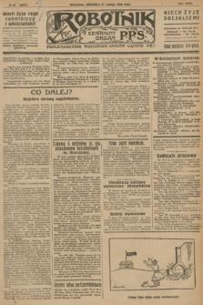 Robotnik : centralny organ P.P.S. R.32, № 52 (21 lutego 1926) = № 2852