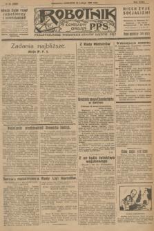 Robotnik : centralny organ P.P.S. R.32, № 56 (25 lutego 1926) = № 2856