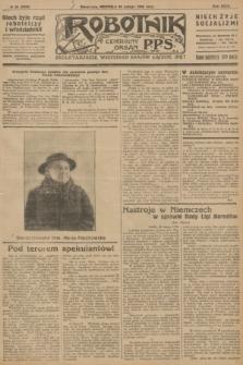 Robotnik : centralny organ P.P.S. R.32, № 59 (23 lutego 1926) = № 2859
