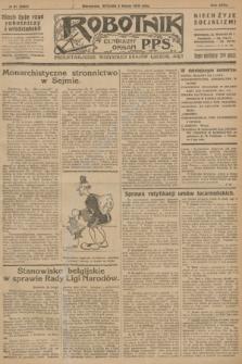 Robotnik : centralny organ P.P.S. R.32, № 61 (2 marca 1926) = № 2861