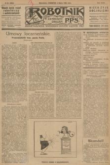 Robotnik : centralny organ P.P.S. R.32, № 63 (4 marca 1926) = № 2863