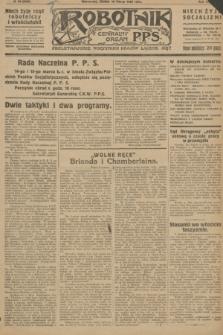 Robotnik : centralny organ P.P.S. R.32, № 69 (10 marca 1926) = № 2869