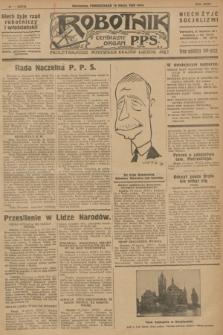 Robotnik : centralny organ P.P.S. R.32, № 74 (15 marca 1926) = № 2874