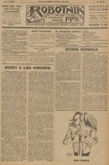 Robotnik : centralny organ P.P.S. R.32, № 79 (20 marca 1926) = № 2879