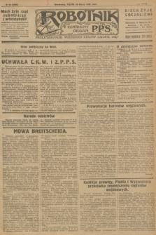 Robotnik : centralny organ P.P.S. R.32, № 85 (26 marca 1926) = № 2885