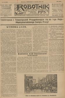 Robotnik : centralny organ P.P.S. R.32, № 100 (12 kwietnia 1926) = № 2900
