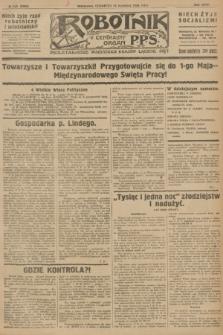 Robotnik : centralny organ P.P.S. R.32, № 103 (15 kwietnia 1926) = № 2903