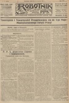 Robotnik : centralny organ P.P.S. R.32, № 117 (29 kwietnia 1926) = № 2917