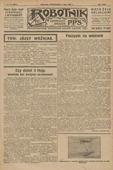 Robotnik : centralny organ P.P.S. R.32, № 121 (3 maja 1926) = № 2921
