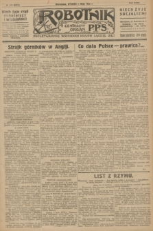 Robotnik : centralny organ P.P.S. R.32, № 122 (4 maja 1926) = № 2922