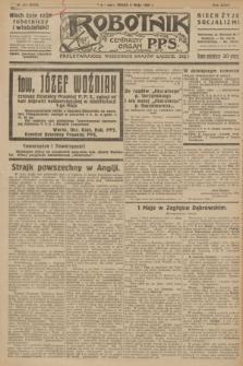 Robotnik : centralny organ P.P.S. R.32, № 123 (5 maja 1926) = № 2923
