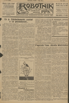 Robotnik : centralny organ P.P.S. R.32, № 125 (7 maja 1926) = № 2925
