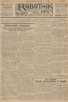 Robotnik : centralny organ P.P.S. R.32, № 126 (8 maja 1926) = № 2926