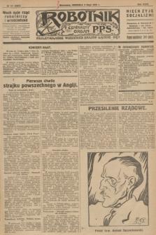 Robotnik : centralny organ P.P.S. R.32, № 127 (9 maja 1926) = № 2927