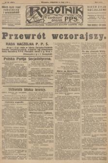 Robotnik : centralny organ P.P.S. R.32, № 131 (13 maja 1926) = № 2931