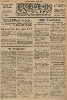 Robotnik : centralny organ P.P.S. R.32, № 134 (16 maja 1926) = № 2934