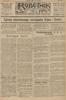 Robotnik : centralny organ P.P.S. R.32, № 137 (19 maja 1926) = № 2937