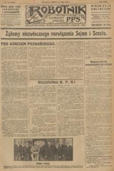 Robotnik : centralny organ P.P.S. R.32, № 140 (22 maja 1926) = № 2940