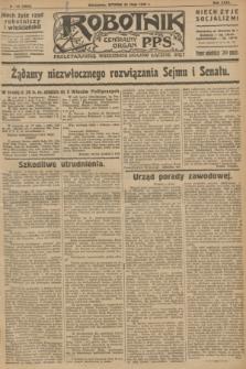 Robotnik : centralny organ P.P.S. R.32, № 142 (25 maja 1926) = № 2942